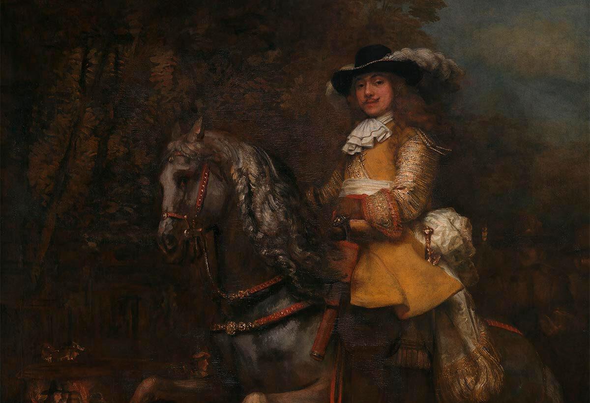 Ruiterportret Frederick Rihel